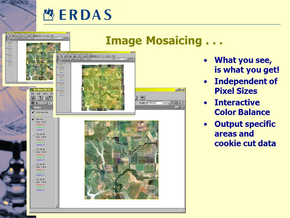 Image Mosaicing . . . What you see, is what you get!