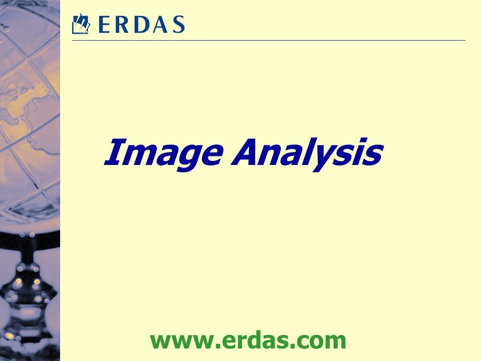 Image Analysis www.erdas.com