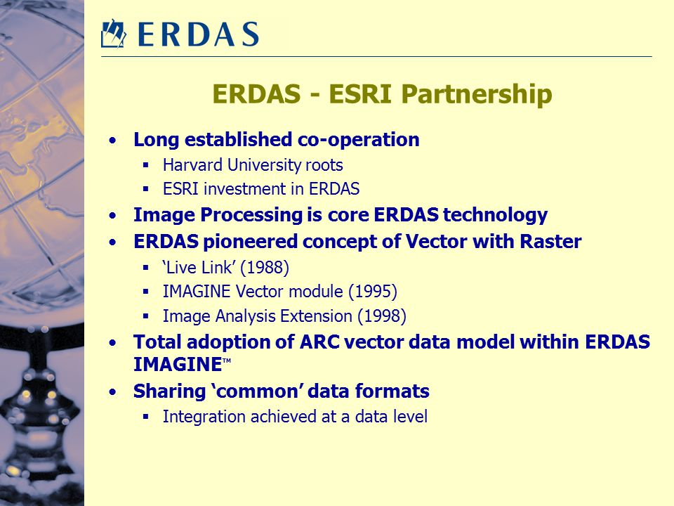 ERDAS - ESRI Partnership