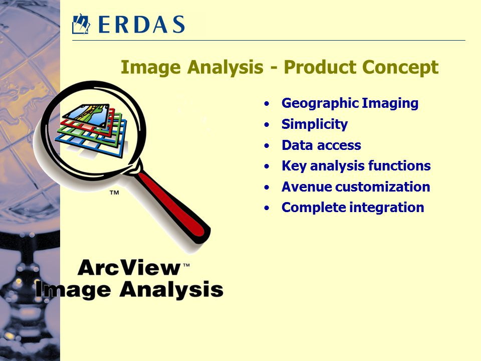 Image Analysis - Product Concept