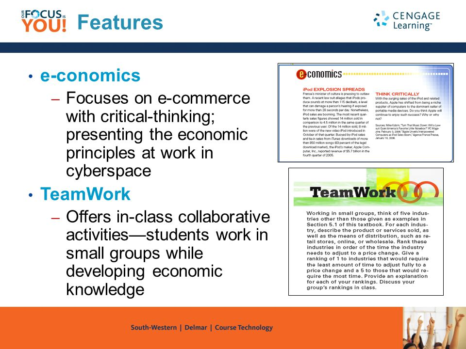 Features e-conomics TeamWork