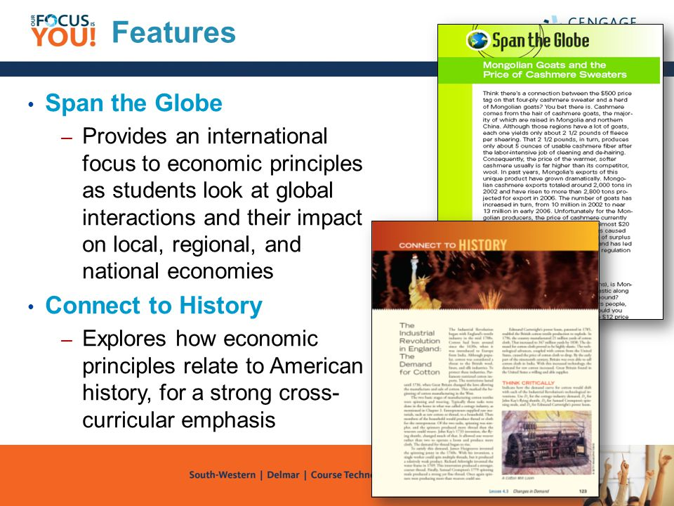Features Span the Globe Connect to History
