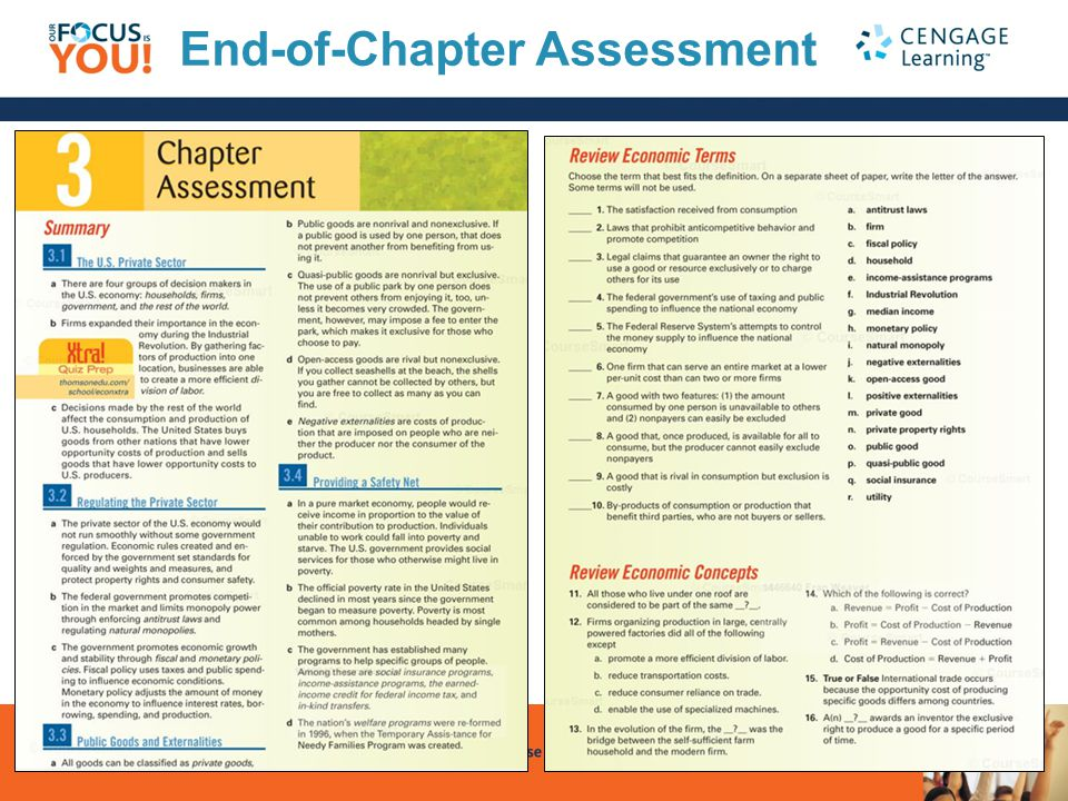 End-of-Chapter Assessment