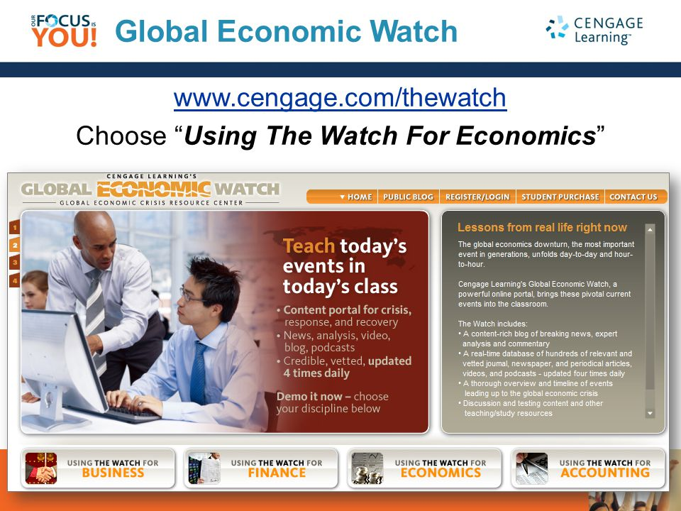 Choose Using The Watch For Economics
