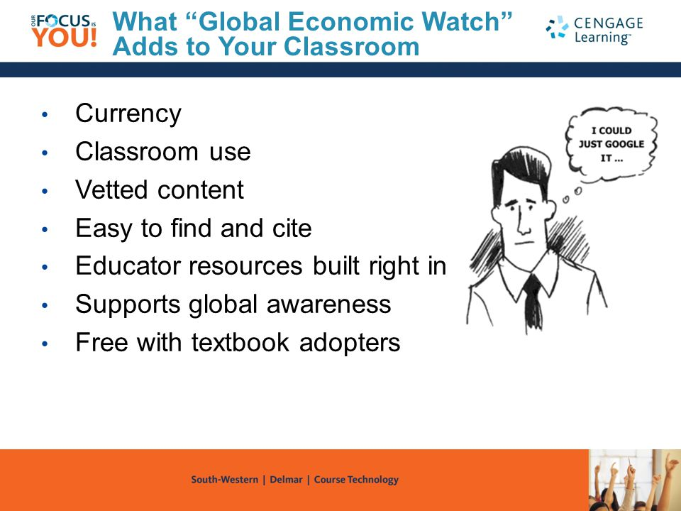 What Global Economic Watch Adds to Your Classroom