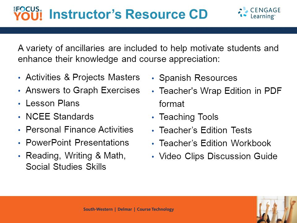 Instructor's Resource CD