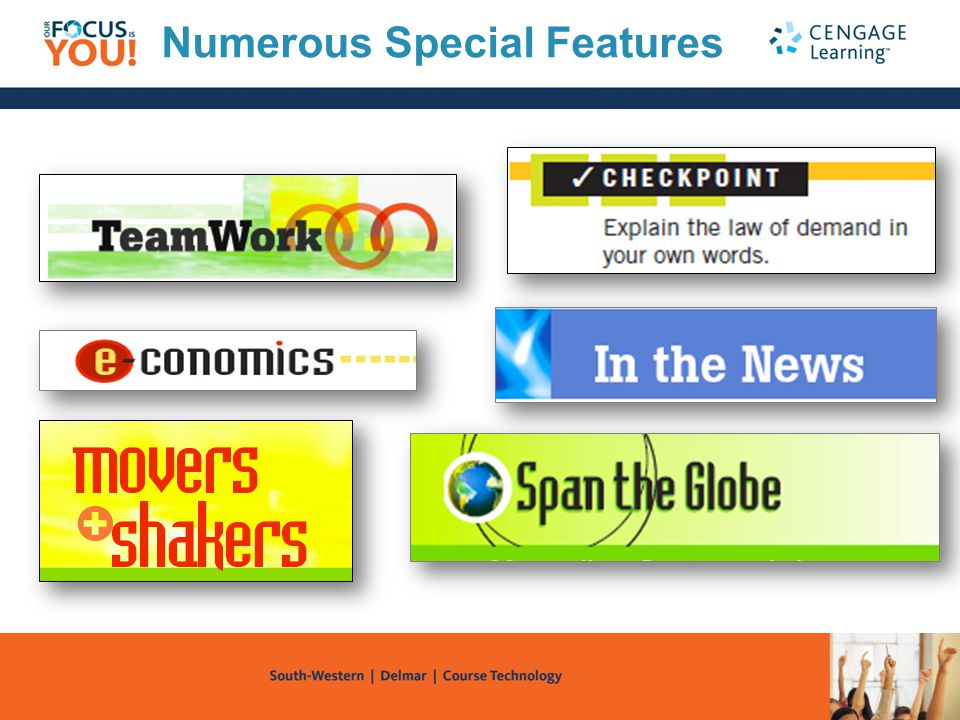 Numerous Special Features