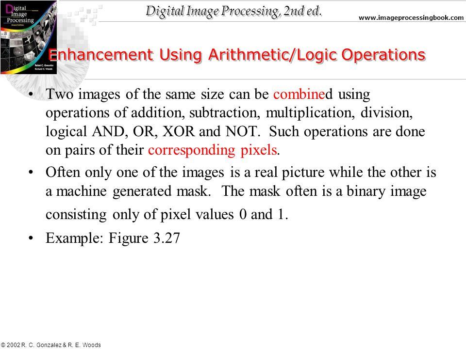 Enhancement Using Arithmetic/Logic Operations