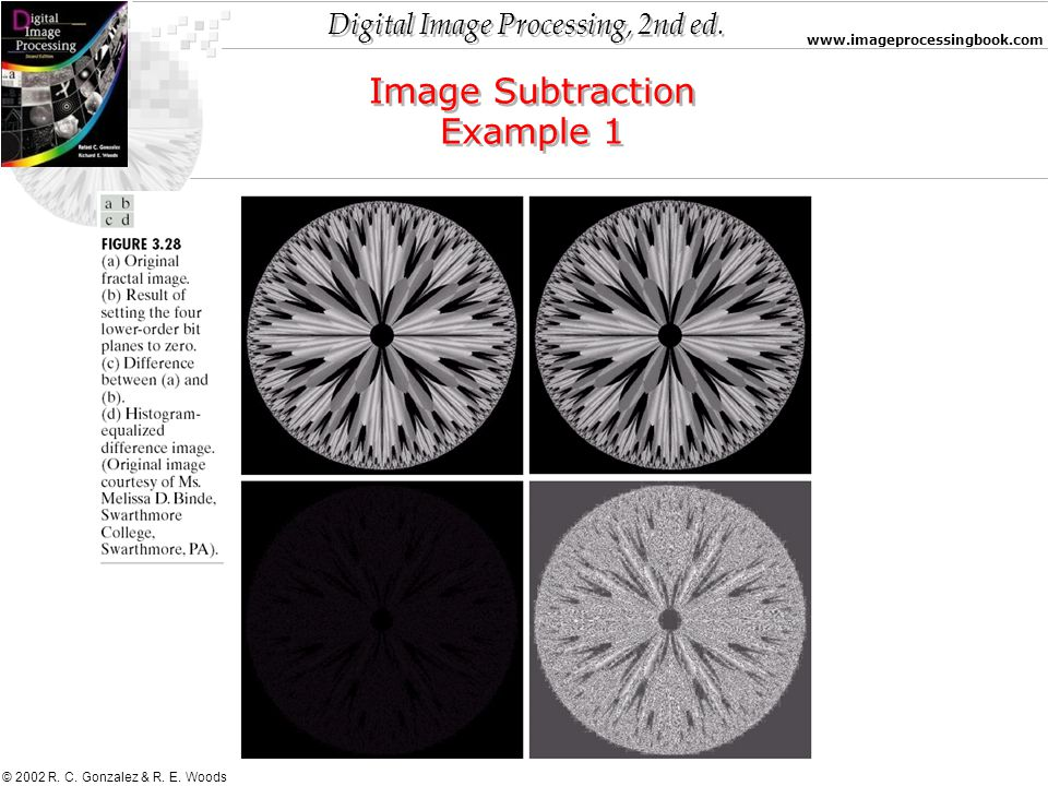 Image Subtraction Example 1