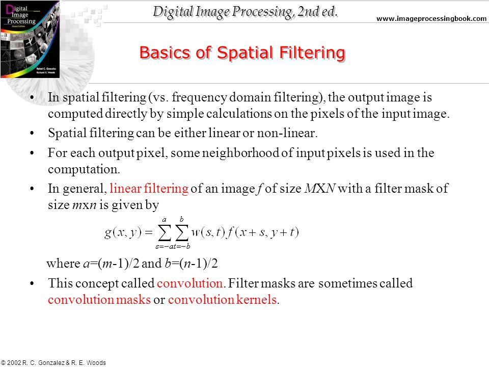 Basics of Spatial Filtering