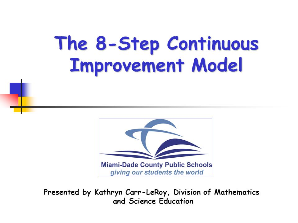 Good Morning Everyone Executive Decision Download : The step continuous improvement model ppt video online