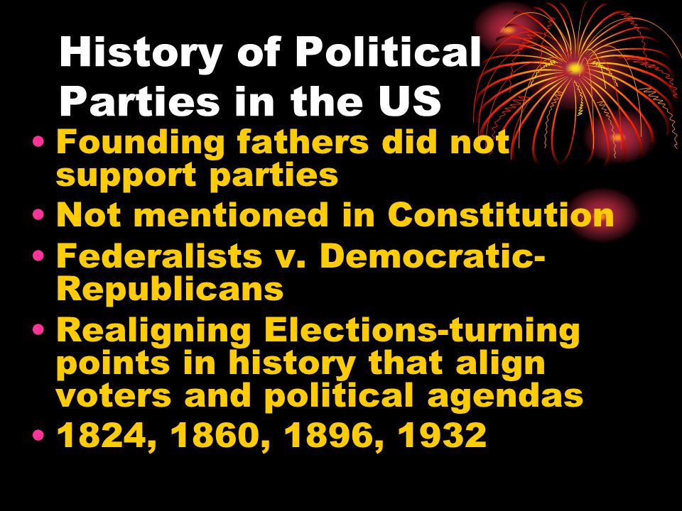 History of Political Parties in the US