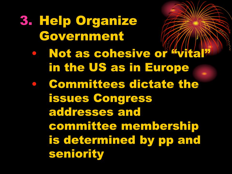 Help Organize Government