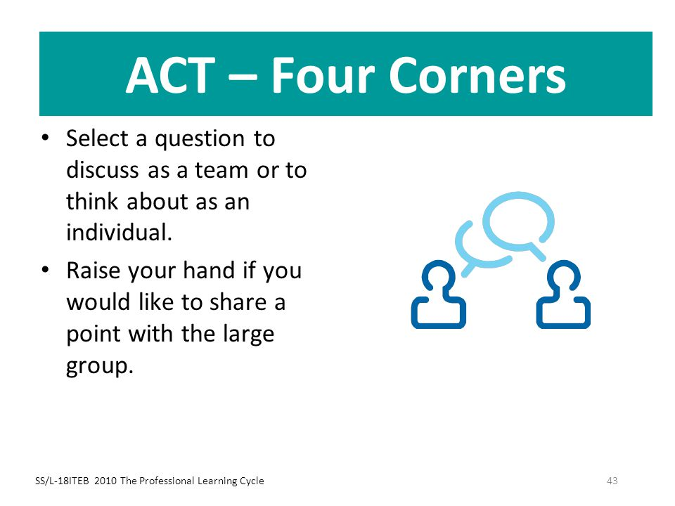 ACT – Four Corners ACT – Four Corners