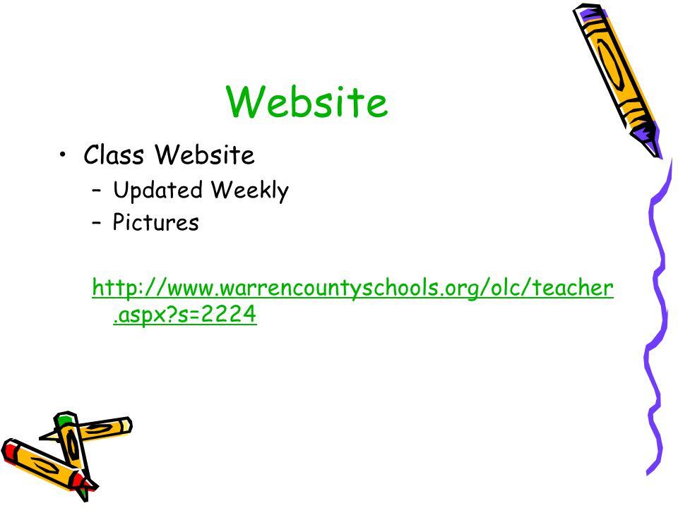 Website Class Website Updated Weekly Pictures