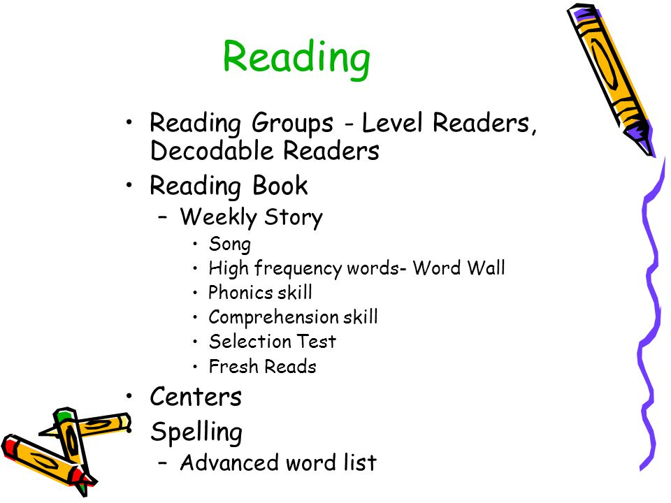 Reading Reading Groups - Level Readers, Decodable Readers Reading Book