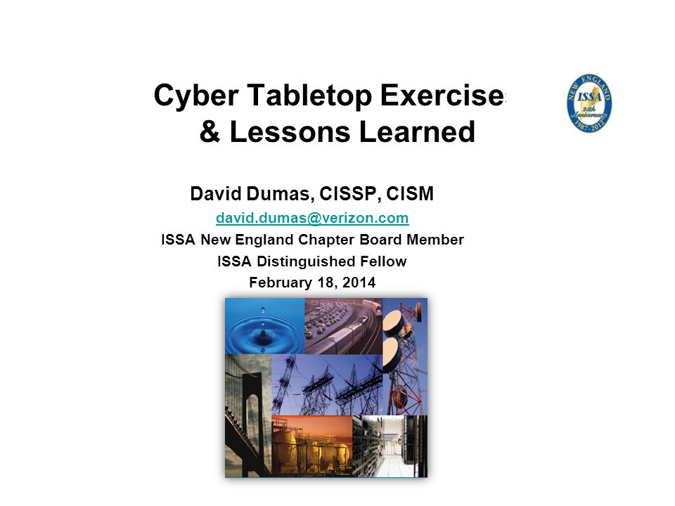 Cyber Tabletop Exercises & Lessons Learned