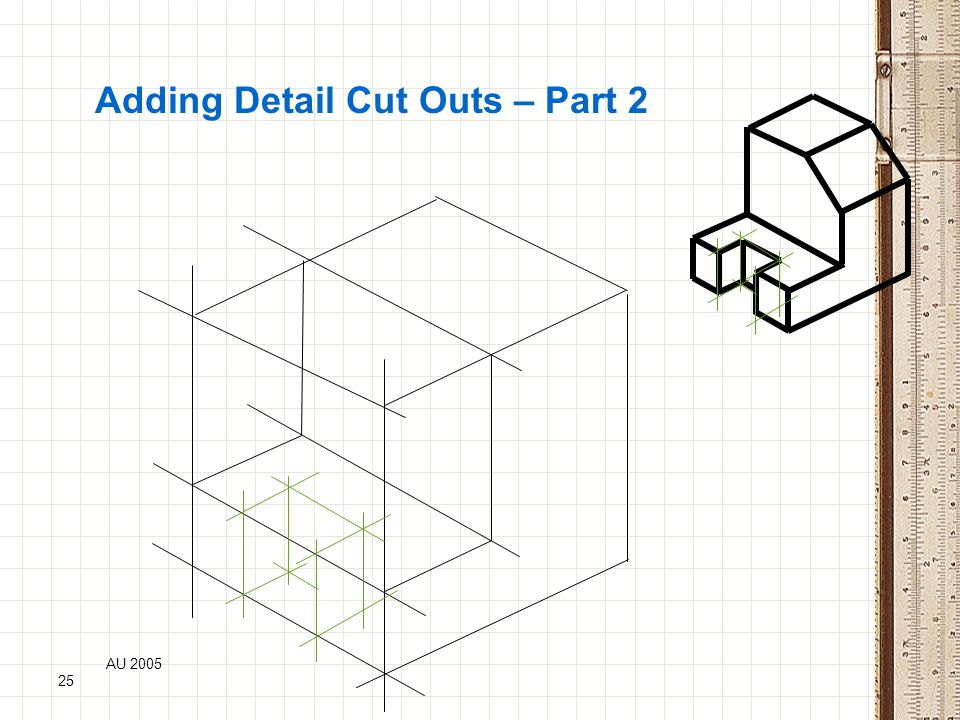Adding Detail Cut Outs – Part 2
