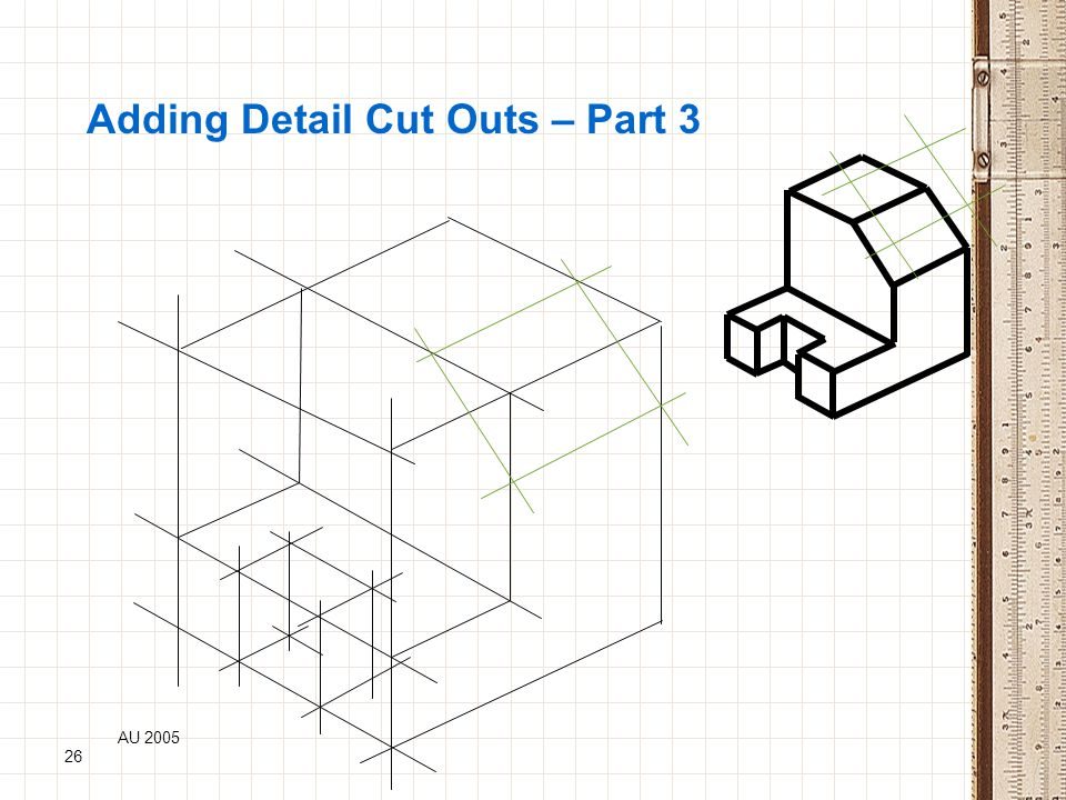 Adding Detail Cut Outs – Part 3