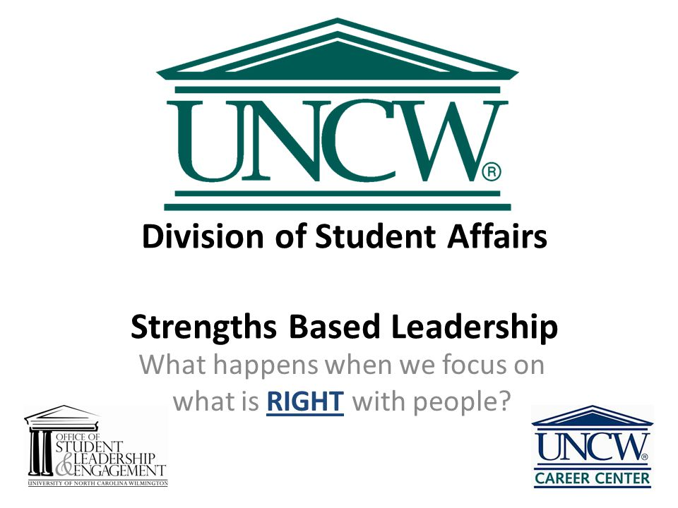 Division of Student Affairs Strengths Based Leadership