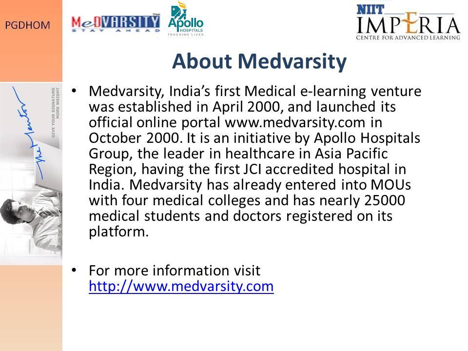 About Medvarsity