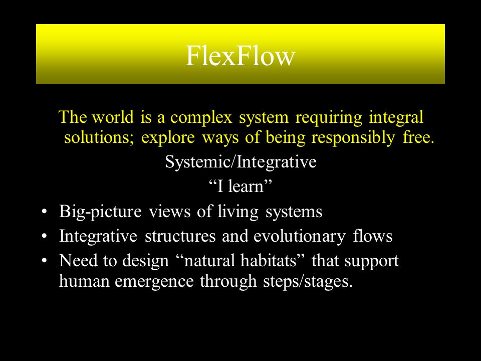 Systemic/Integrative