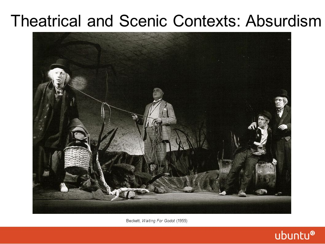 Theatrical and Scenic Contexts: Absurdism