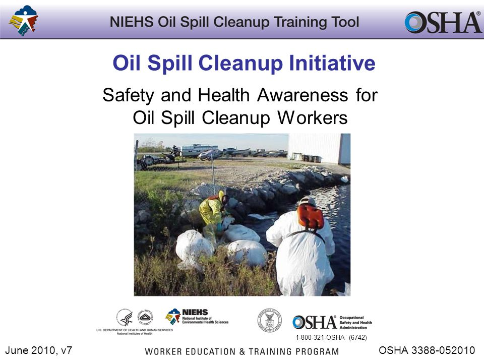 Oil Spill Cleanup Initiative