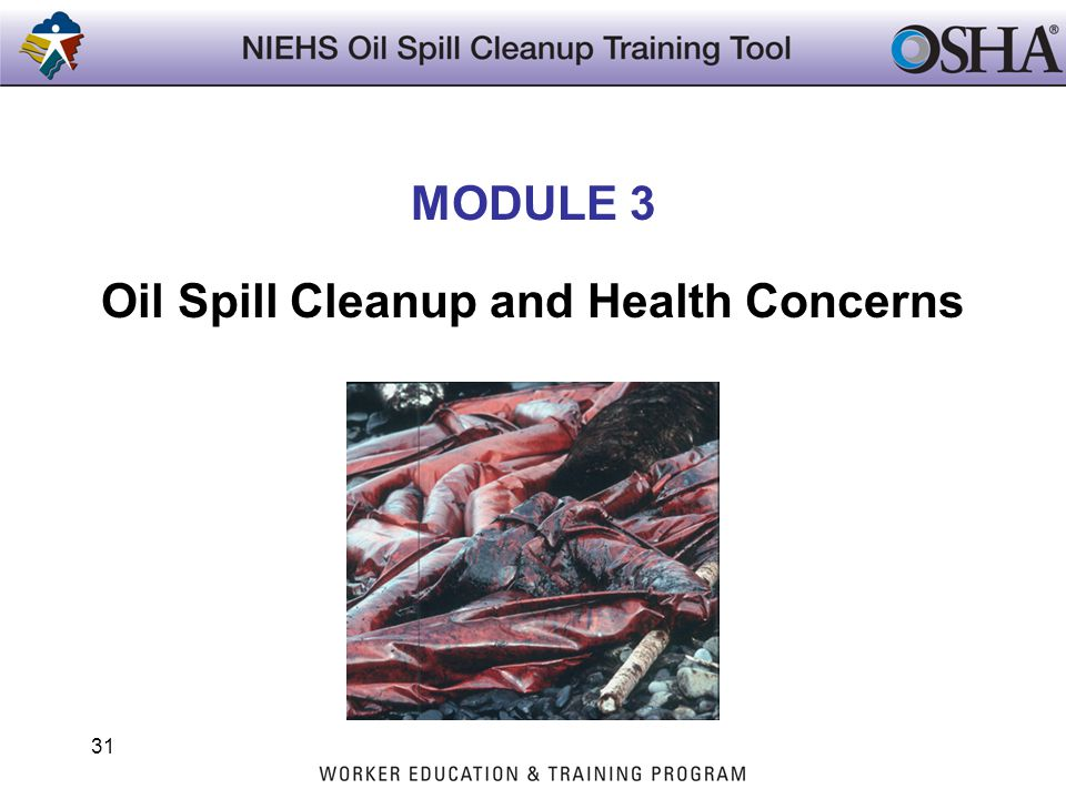Oil Spill Cleanup and Health Concerns