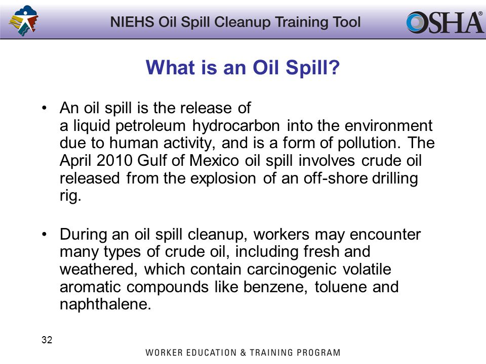 What is an Oil Spill