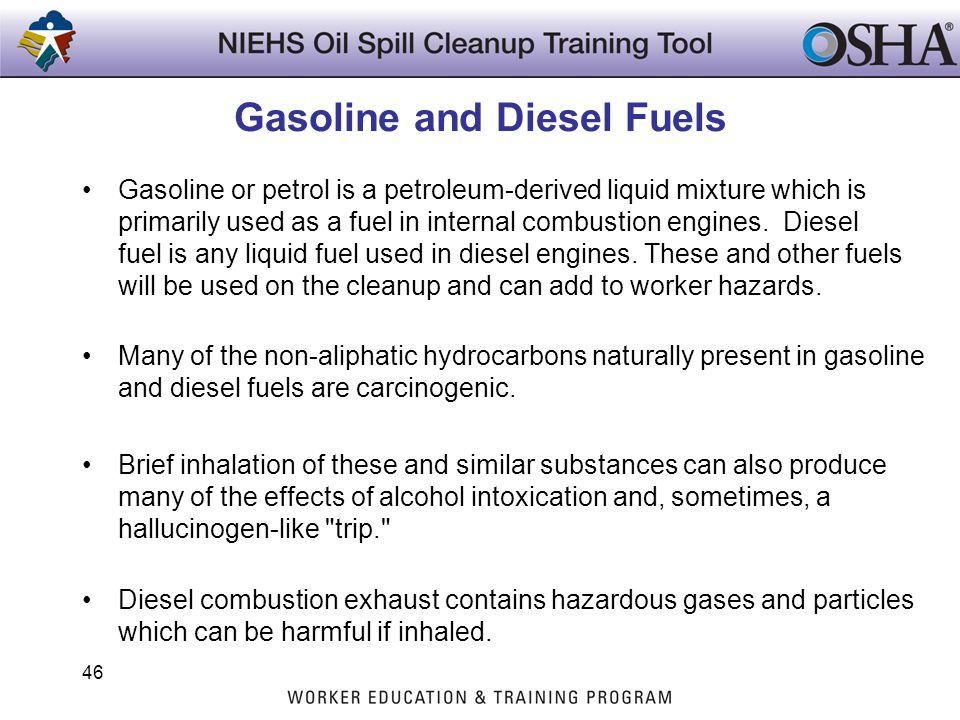 Gasoline and Diesel Fuels