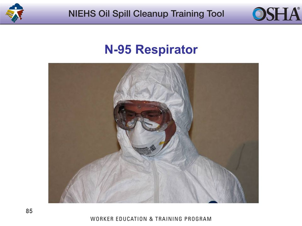 N-95 Respirator Trainers Notes: