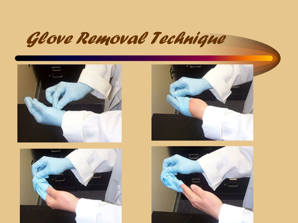 Glove Removal Technique