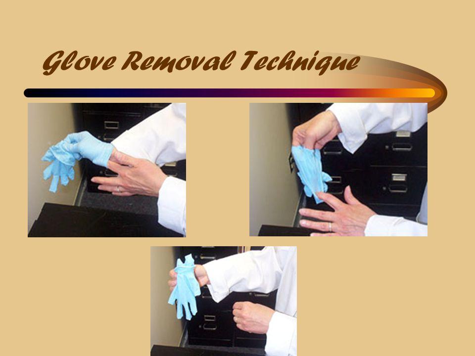 Glove Removal Technique