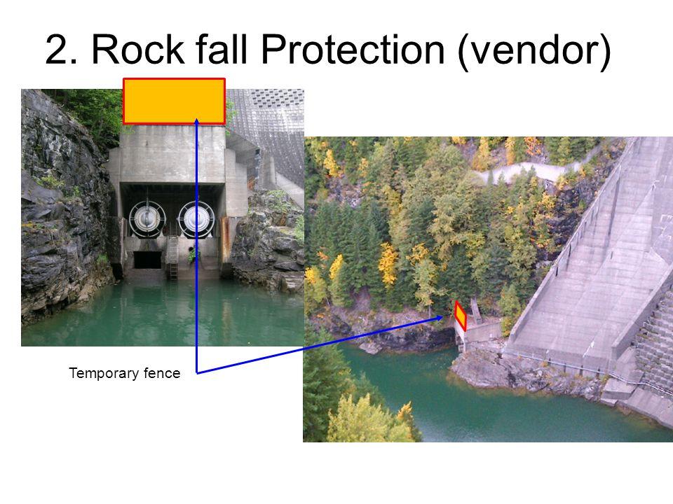 2. Rock fall Protection (vendor)