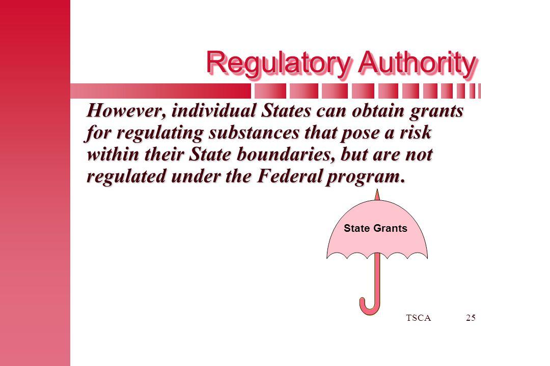 Regulatory Authority