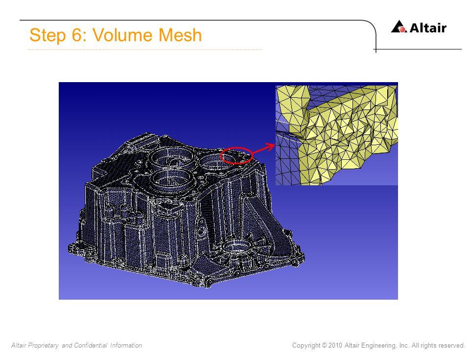 Step 6: Volume Mesh