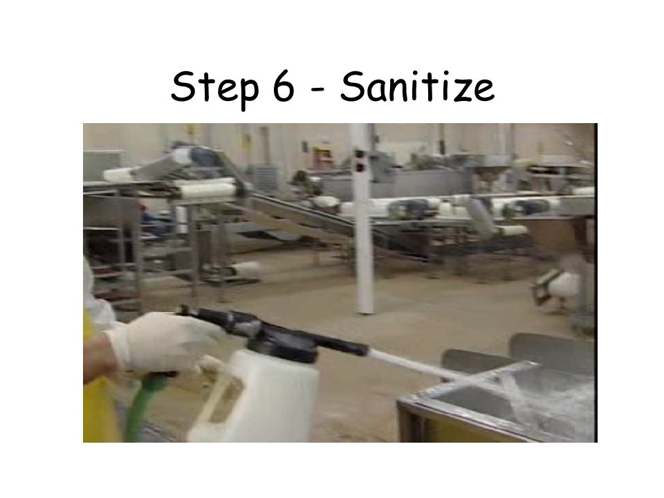 Plant Cleaning & Sanitizing Training Program for Listeria Control