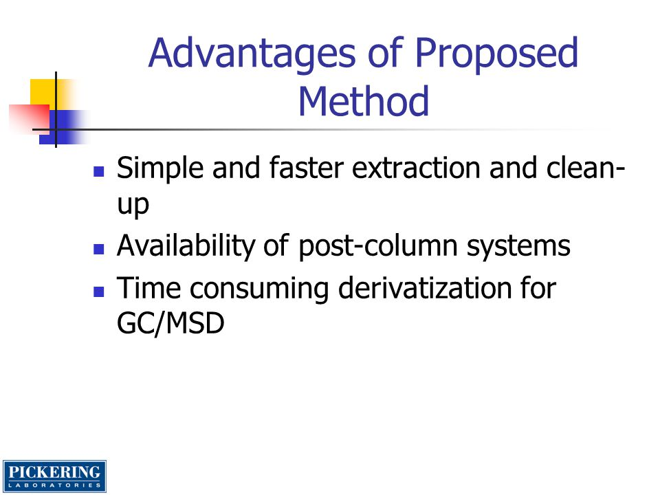 Advantages of Proposed Method