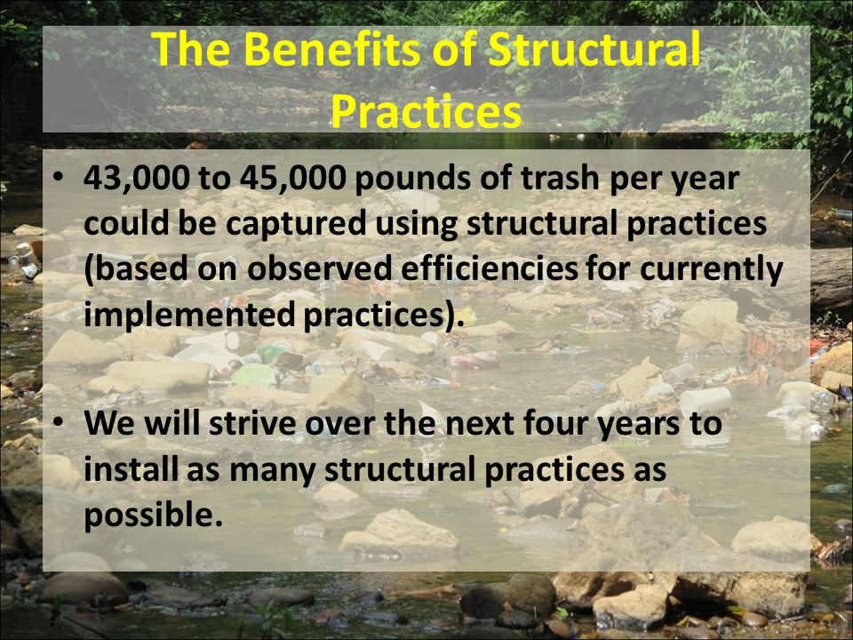 The Benefits of Structural Practices