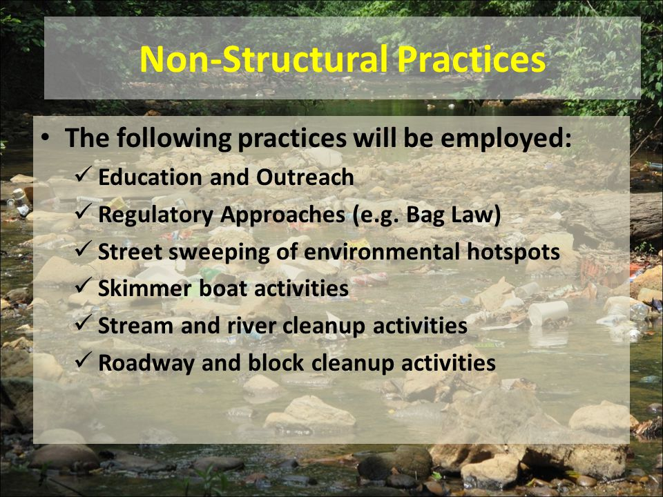 Non-Structural Practices