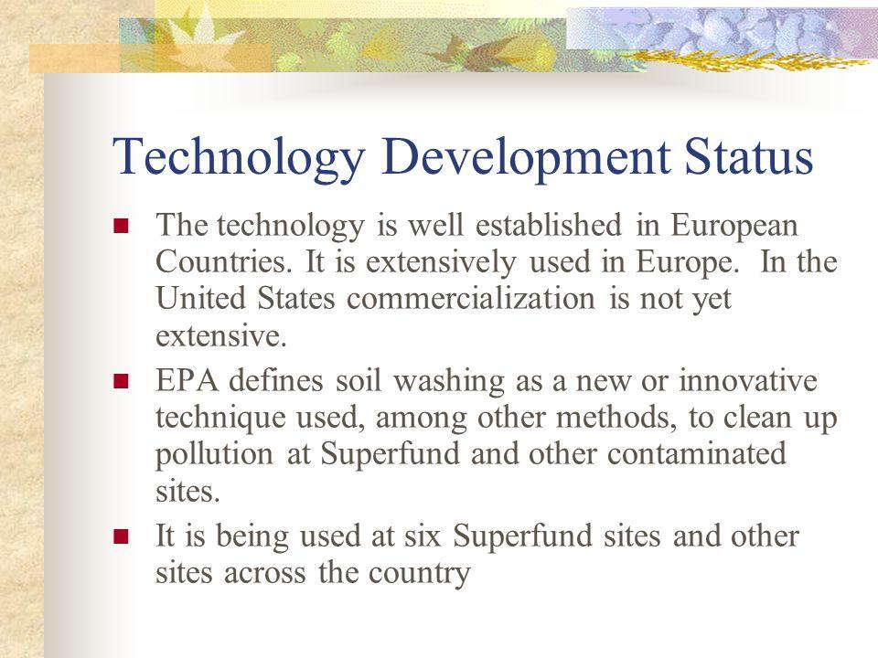Technology Development Status