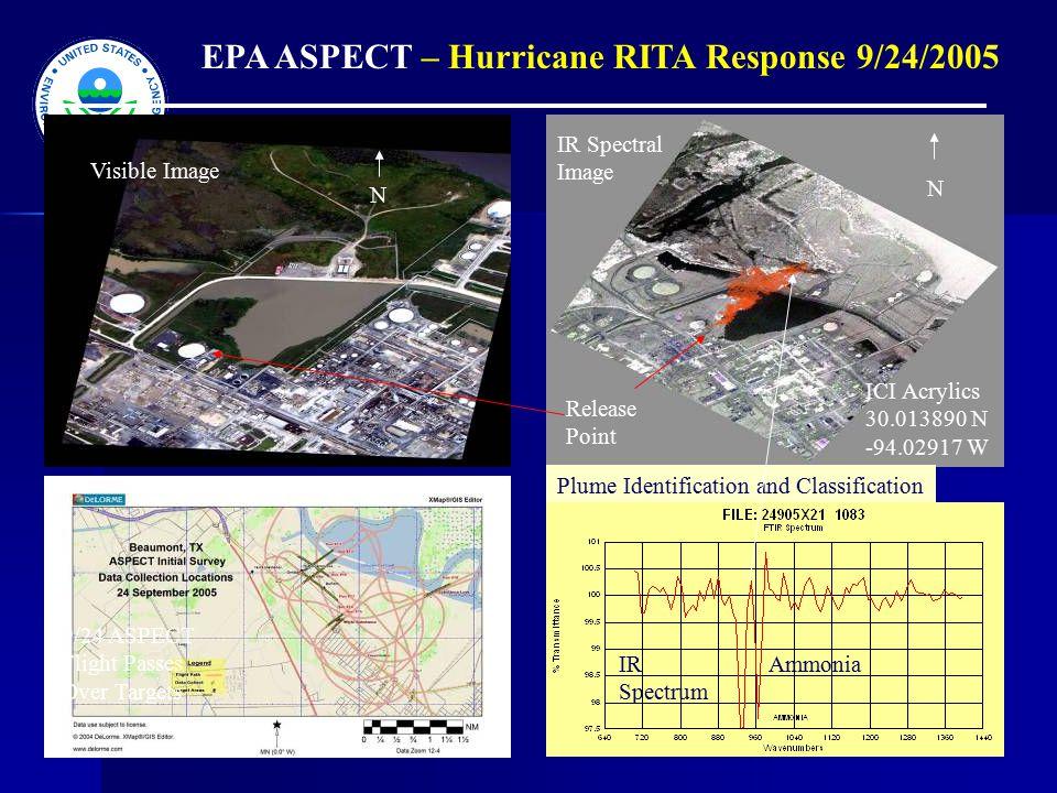 EPA ASPECT – Hurricane RITA Response 9/24/2005