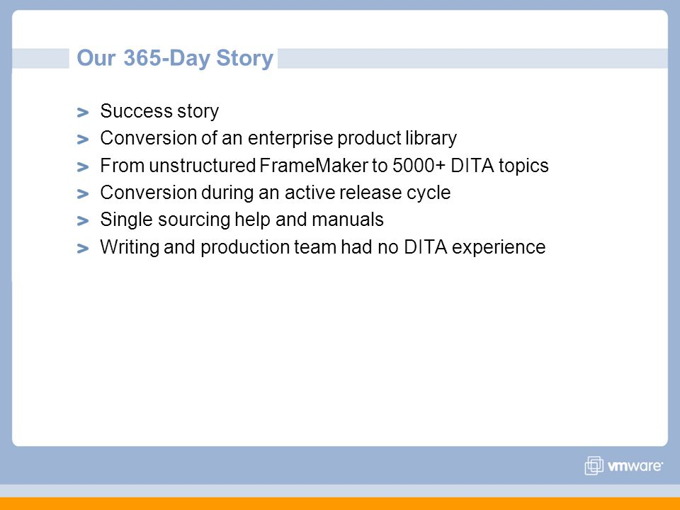 Our 365-Day Story Success story
