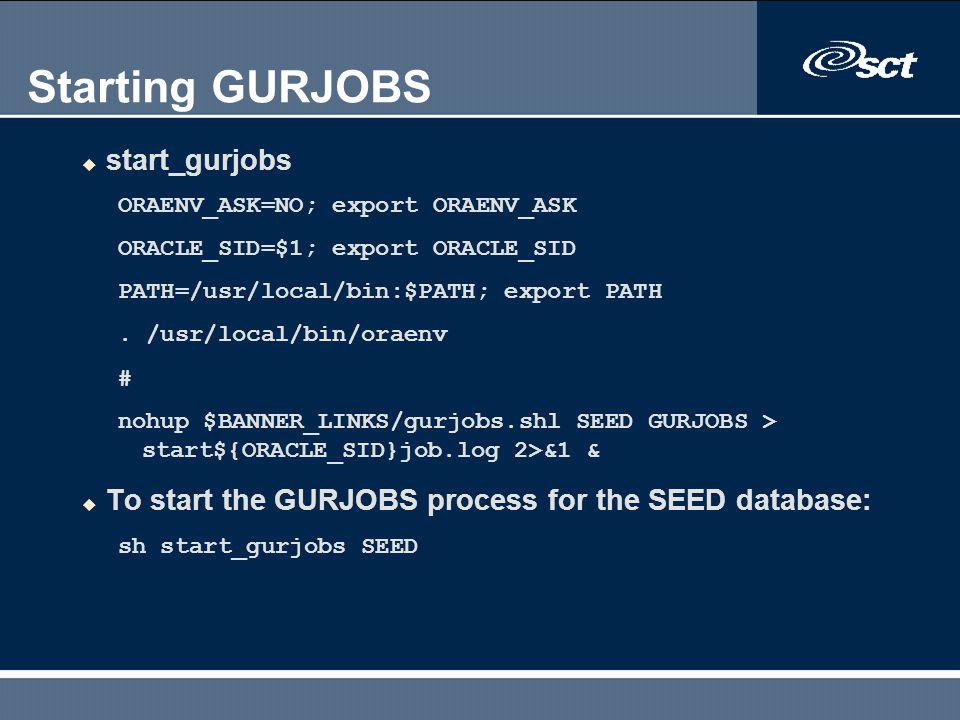Starting GURJOBS start_gurjobs
