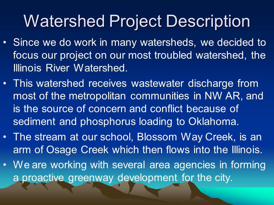 Watershed Project Description