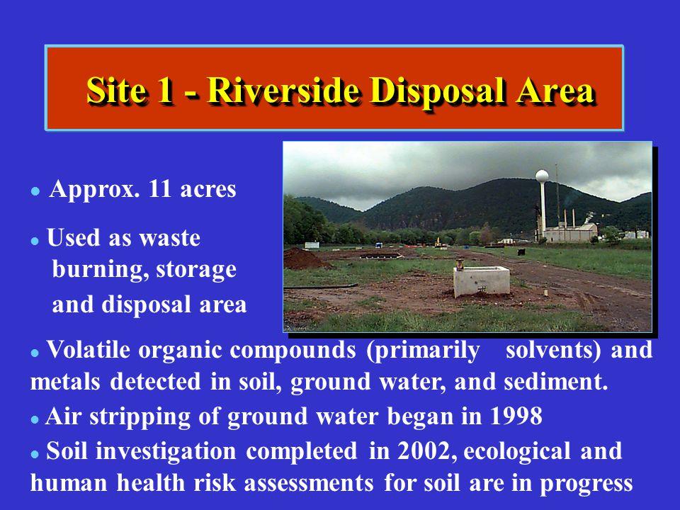 Site 1 - Riverside Disposal Area