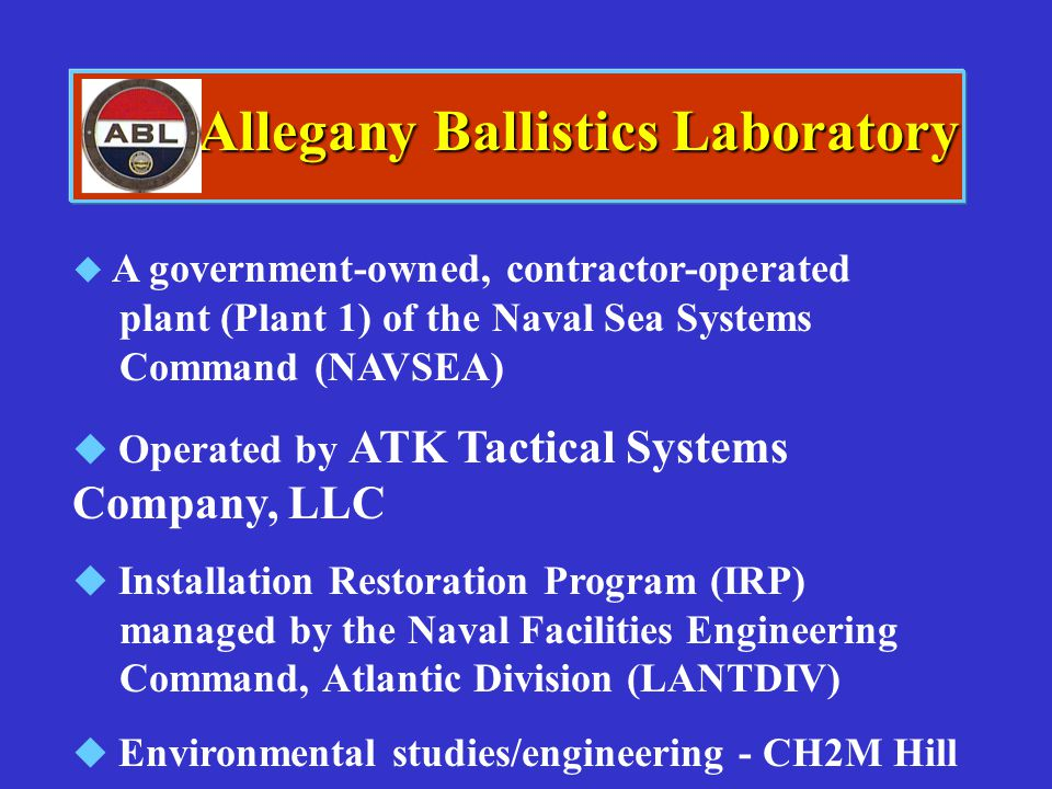 Allegany Ballistics Laboratory
