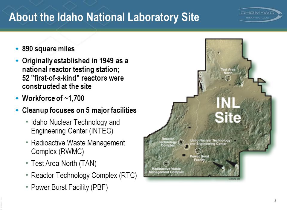About the Idaho National Laboratory Site