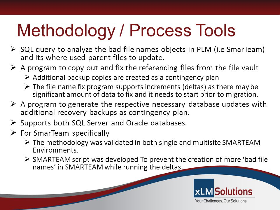 Methodology / Process Tools